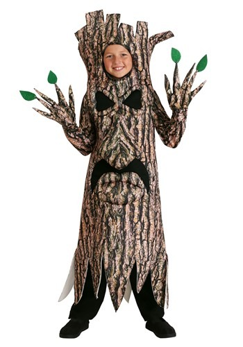 Terrifying Tree Costume for Kids
