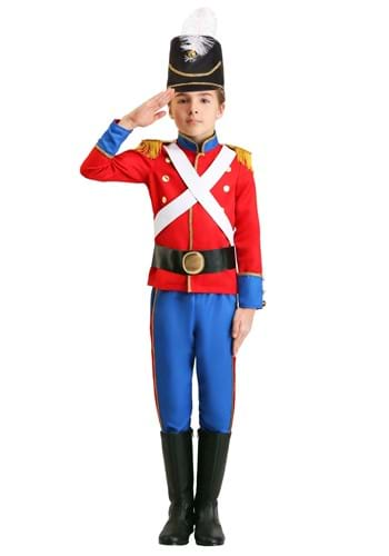 Toy Soldier Boys Costume