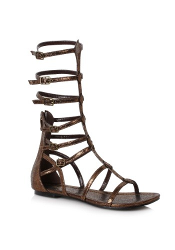 Bronze Warrior Adult Sandals