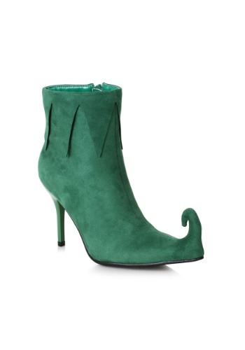 Click Here to buy Green Elf Boots for Women from HalloweenCostumes, CDN Funds & Shipping