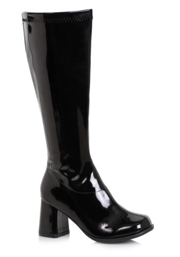 Click Here to buy Black Wide Width Gogo Boots for Women from HalloweenCostumes, CDN Funds & Shipping