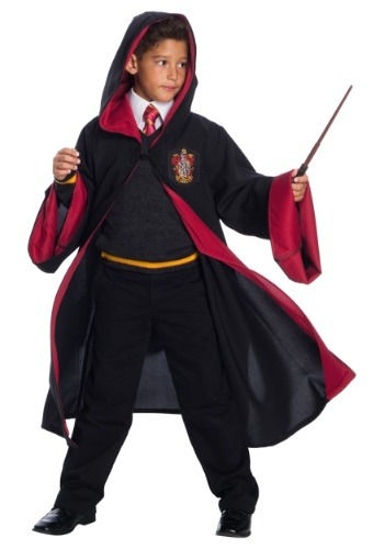 Click Here to buy Deluxe Gryffindor Student Kids Costume from HalloweenCostumes, CDN Funds & Shipping
