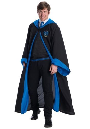 Deluxe Ravenclaw Student Costume for Adults