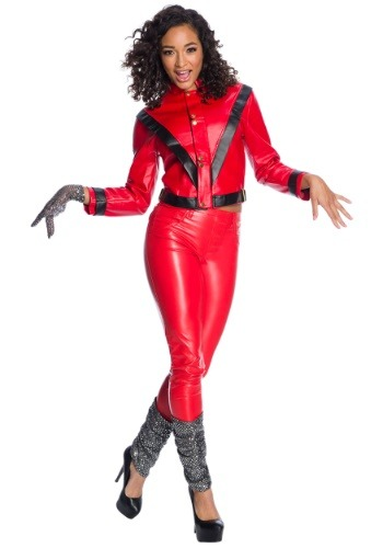 Click Here to buy Womens Michael Jackson Deluxe Costume from HalloweenCostumes, CDN Funds & Shipping