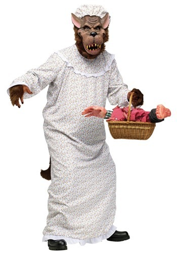 Click Here to buy Big Bad Granny Wolf Costume from HalloweenCostumes, CDN Funds & Shipping