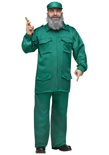 Click Here to buy Adult Fidel Costume from HalloweenCostumes, CDN Funds & Shipping