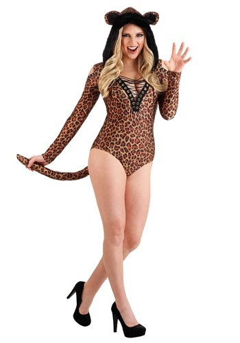 Click Here to buy Leopard Leotard Womens Costume from HalloweenCostumes, CDN Funds & Shipping