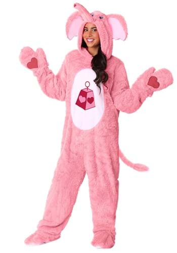 Click Here to buy Lotsa Heart Elephant Care Bears & Cousins Adult Costume from HalloweenCostumes, CDN Funds & Shipping