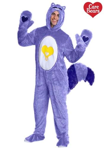 Care Bears & Cousins Adult Bright Heart Raccoon Costume