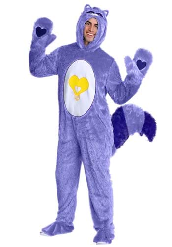 Click Here to buy Care Bears & Cousins Bright Heart Raccoon Adult Costume from HalloweenCostumes, CDN Funds & Shipping