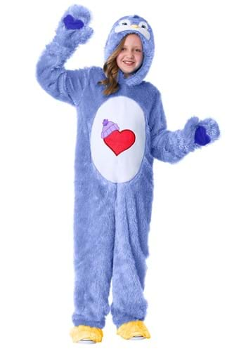 Click Here to buy Cozy Heart Penguin Kids care Bears Costume from HalloweenCostumes, CDN Funds & Shipping