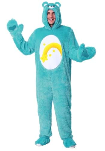 Click Here to buy Adult Care Bears Wish Bear Costume from HalloweenCostumes, CDN Funds & Shipping