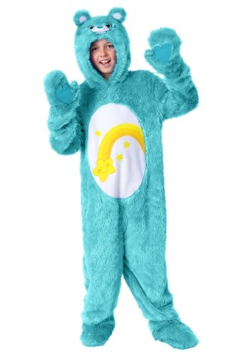 Click Here to buy Care Bears Wish Bear Kids Costume from HalloweenCostumes, CDN Funds & Shipping