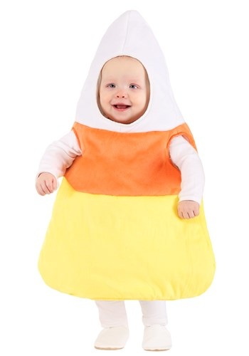 Click Here to buy Candy Corn Baby Costume from HalloweenCostumes, CDN Funds & Shipping