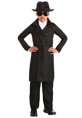 Secret Agent Man Kids Costume