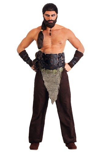 Nomadic Horse Warrior Costume for Men