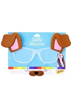 Puppy Dog Photo Filter Glasses