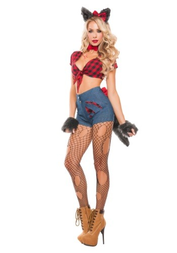 Click Here to buy Sexy Werewolf Womens Costume from HalloweenCostumes, CDN Funds & Shipping