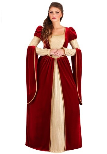 Regal Renaissance Queen Womens Costume