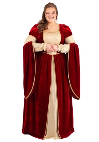 Click Here to buy Plus Size Regal Renaissance Queen Womens Costume from HalloweenCostumes, CDN Funds & Shipping