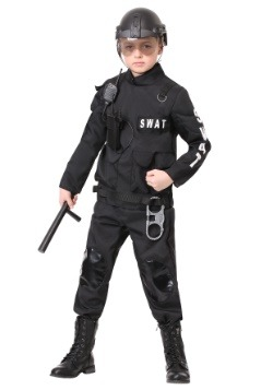 Kids SWAT Commander Costume