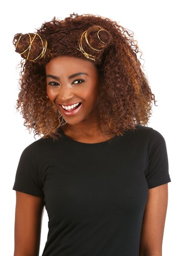 Click Here to buy Sassy Girl Womens Power Wig from HalloweenCostumes, CDN Funds & Shipping