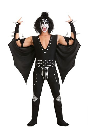 Click Here to buy Demon KISS Costume from HalloweenCostumes, CDN Funds & Shipping