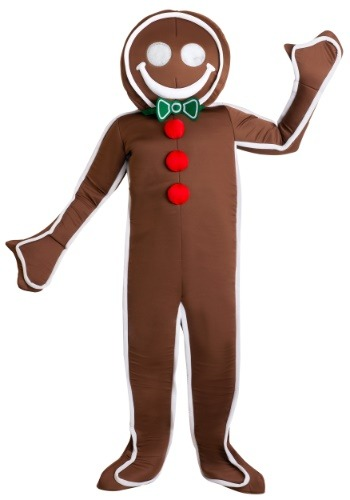 Iced Gingerbread Man Costume For Men