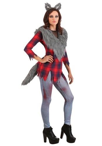 Womens Pluz Size Ruff and Tumble Werewolf