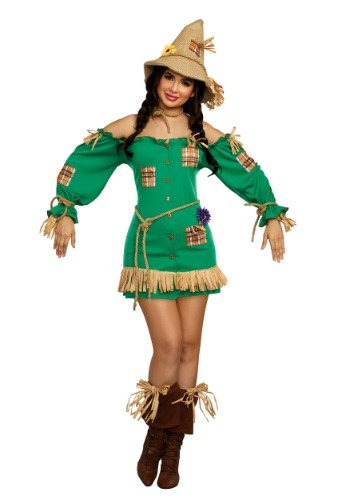 Saucy Scarecrow Women's Costume