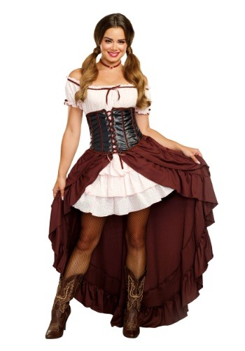 Saloon Gal Costume for Women
