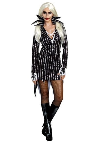 Click Here to buy Madame Skeleton Womens Costume from HalloweenCostumes, CDN Funds