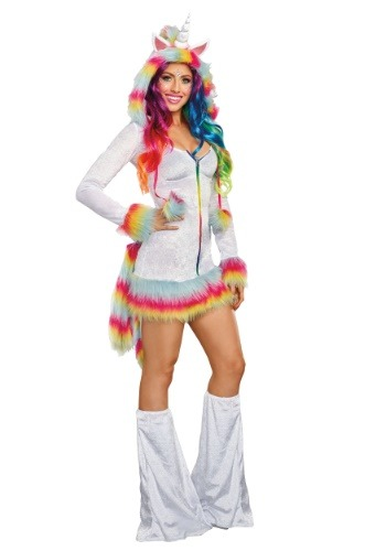 Women's Unicorn Beauty Costume