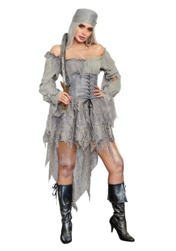 Click Here to buy Ghost Pirate Womens Costume from HalloweenCostumes, CDN Funds & Shipping