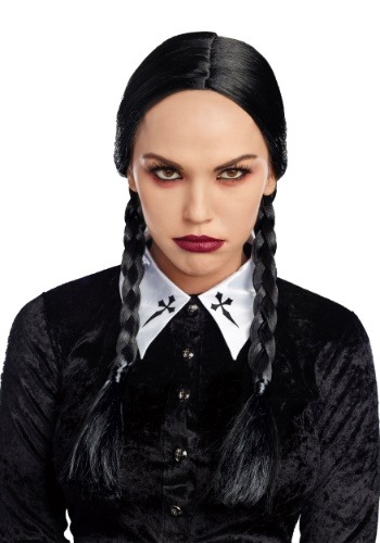 Click Here to buy Deluxe Black Braid Wig for Women from HalloweenCostumes, CDN Funds & Shipping