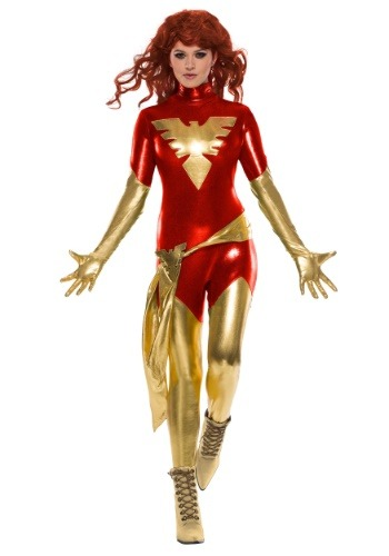 Adult Women's Red Phoenix Costume