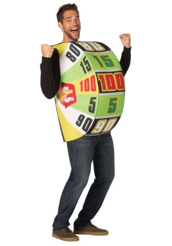 Price is Right Wheel Costume for Adults
