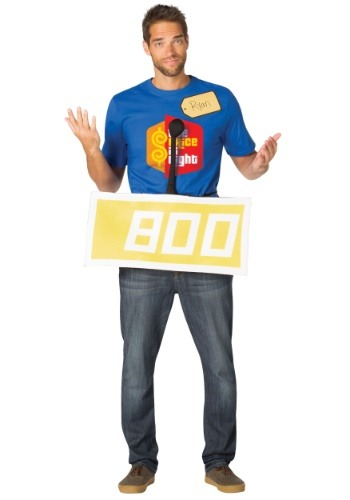 Price is Right Yellow Contestant Costume for Adults