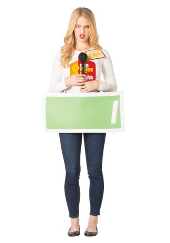 Price is Right Green Contestant Costume for Adults