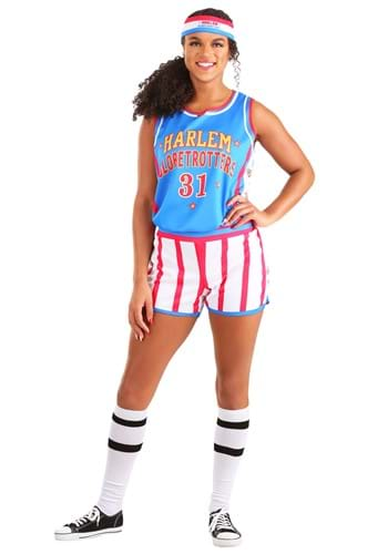 Click Here to buy Harlem Globetrotters Uniform Womens Costume from HalloweenCostumes, CDN Funds & Shipping