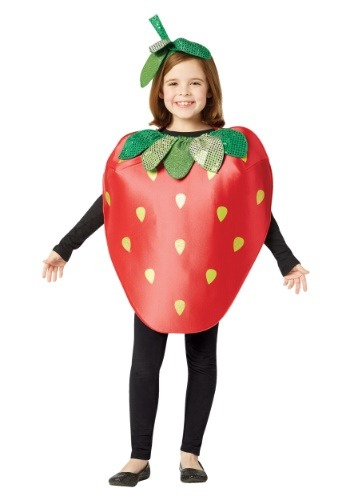 Click Here to buy Strawberry Kids Costume from HalloweenCostumes, CDN Funds & Shipping