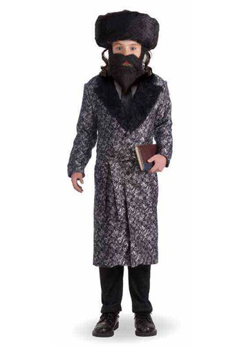 Kids Deluxe Rabbi Costume