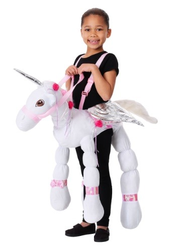 Click Here to buy Ride a Unicorn Kids Costume from HalloweenCostumes, CDN Funds & Shipping