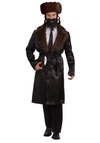 Click Here to buy Rabbi Mens Costume from HalloweenCostumes, CDN Funds & Shipping