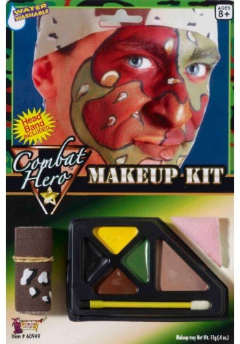 Click Here to buy Combat Hero Makeup Kit from HalloweenCostumes, CDN Funds & Shipping