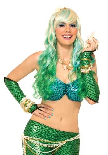 Green Mermaid Sleeves for Women