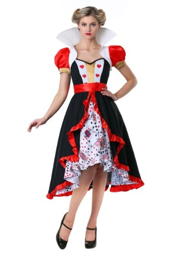 Click Here to buy Flirty Queen of Hearts Plus Size Costume from HalloweenCostumes, CDN Funds & Shipping