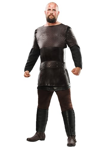 Click Here to buy Vikings Ragnar Lothbrok Plus Size Mens Costume from HalloweenCostumes, CDN Funds & Shipping
