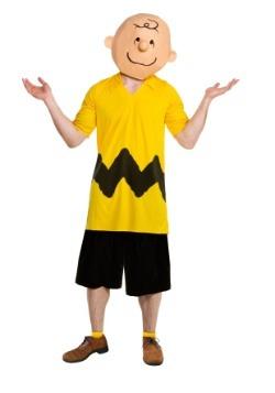 Deluxe Charlie Brown Men's Costume