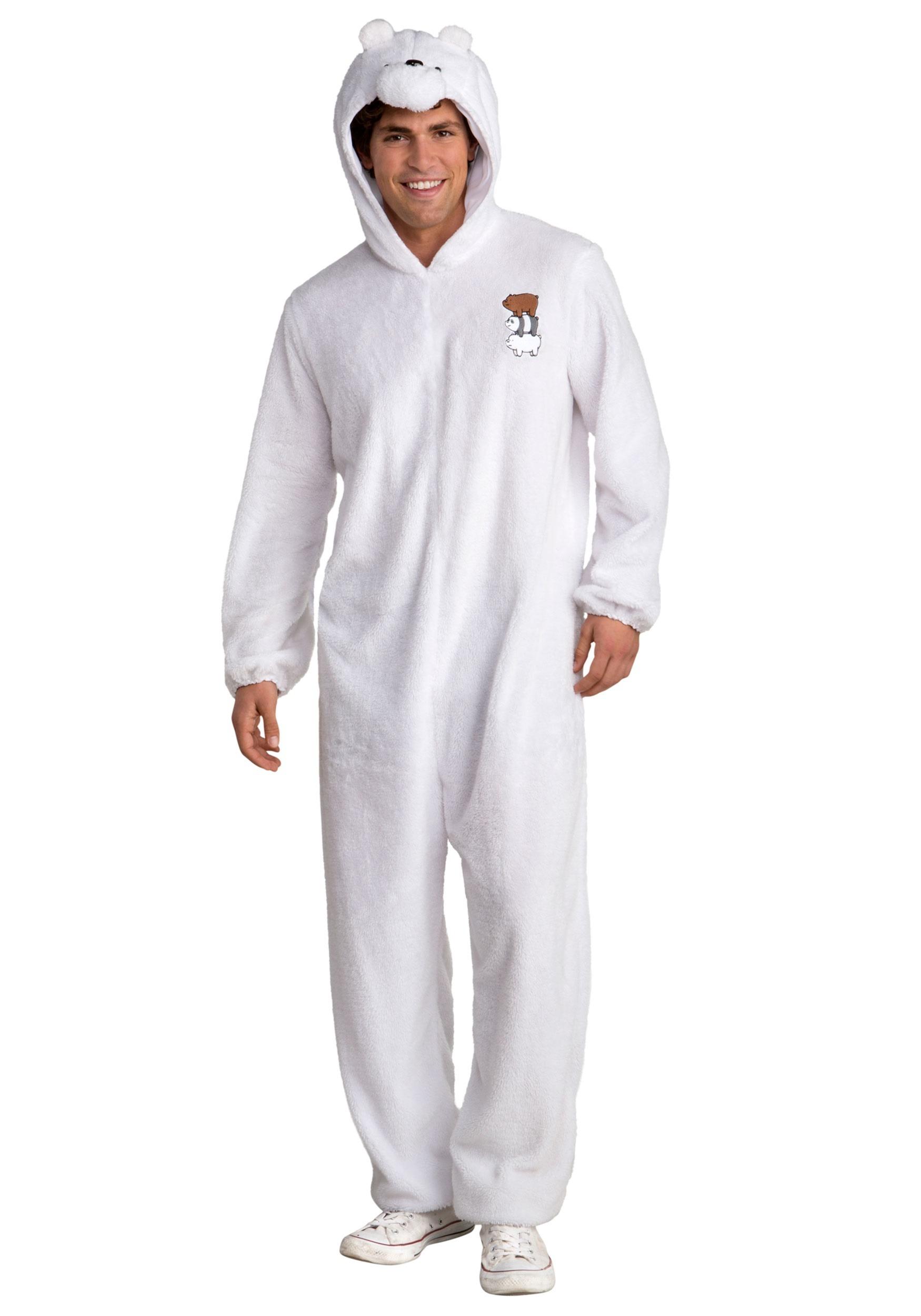 We Bare Bears Ice Bear Costume for Men